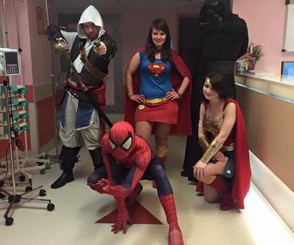 Szczecińska Liga Superbohaterów Wspieramy Superbohaterów 11