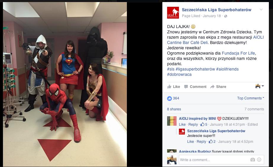 Szczecińska Liga Superbohaterów Wspieramy Superbohaterów 5
