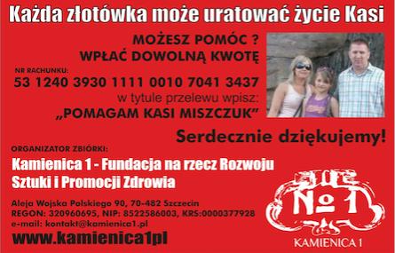 Zbiórka Publiczna Kasia Miszczuk