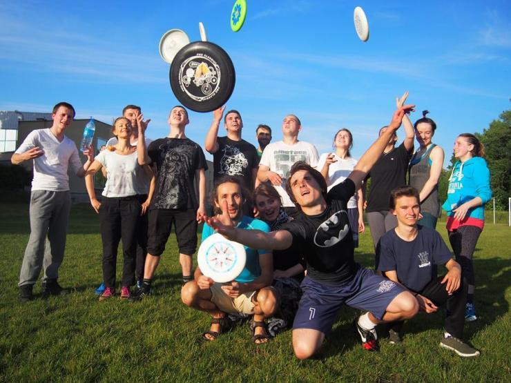 Frisbee_trening