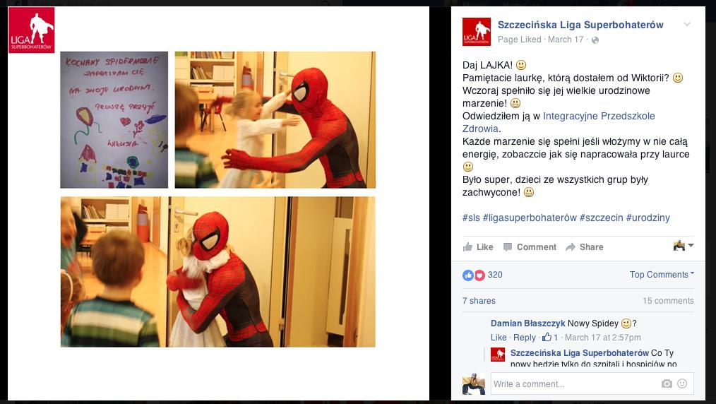 Szczecińska Liga Superbohaterów Wspieramy Superbohaterów 2