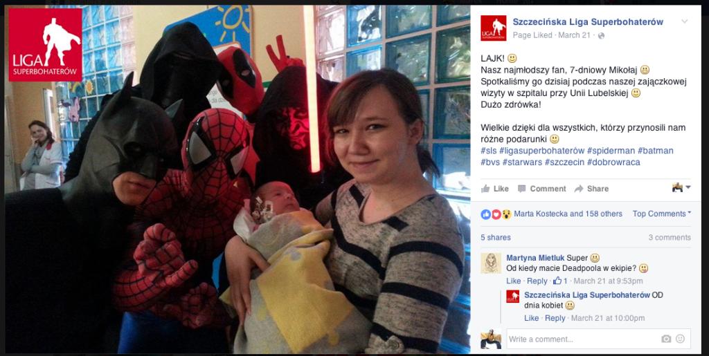 Szczecińska Liga Superbohaterów Wspieramy Superbohaterów 3