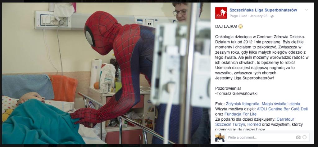 Szczecińska Liga Superbohaterów Wspieramy Superbohaterów 6