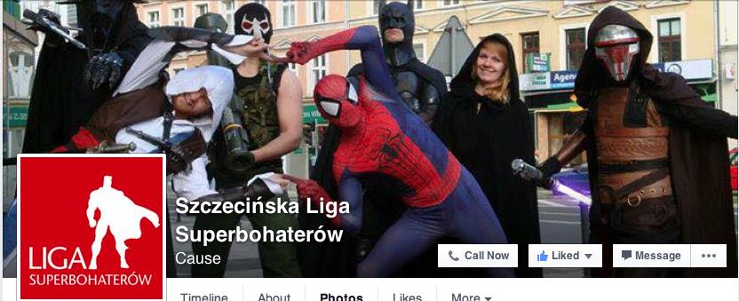 Szczecińska Liga Superbohaterów Wspieramy Superbohaterów