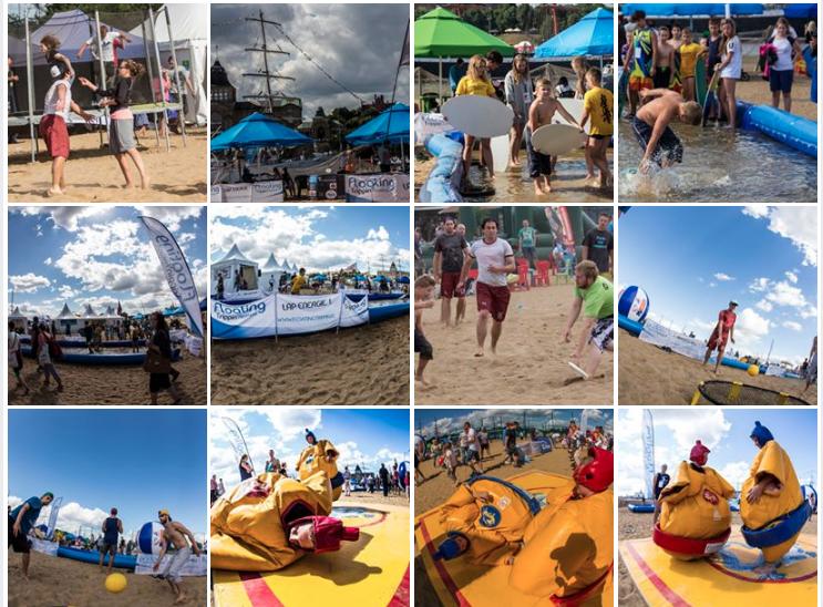 Floating Trippin' Festival Strefa Sportu 2017 6